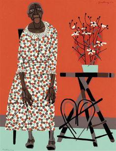 The Farmer's Wife by Robert Gwathmey on artnet Auctions