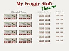 1000 Images About Barbie My Froggy Stuff Tutorials On