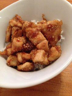 Pollo con sésamo, ajo y miel - Receta