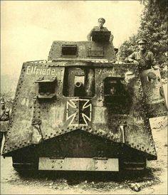 Germany's first tank - World War I