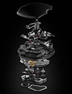 La Cote des Montres : La montre Urwerk UR-210 - Partiellement humaine et faite de la matière dont sont faits les rêves