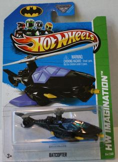 (TAS021327) - Hot Wheels Imagination 2013 - Batcopter - 64/250
