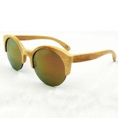 c5cb2916a4 Novelty Bamboo Sunglasses Men Women Brand Designer Original Wood Sun Glasses  Wooden Frame Polarized Glasses