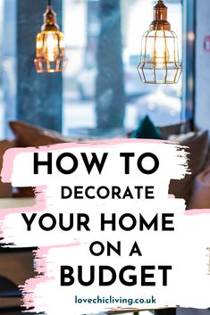 Decorating on a budget is easier than you think. Learn how to design the decor of your living room bedroom kitchen entry way and rental without spending a lot. Hacks ideas tips and advice on saving money on your diy. You'll be surprised that it's so easy. Kids Decor, Diy Home Decor, Decor Ideas, Country Bedroom Design, Design Bedroom, College Dorm Decorations, Software, Thrifty Decor, Uk Homes