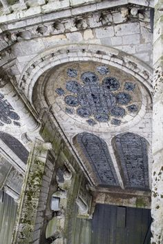 Notre Dame de Chartres Cathedral, France. Clerestory Window, North Side of the Nave