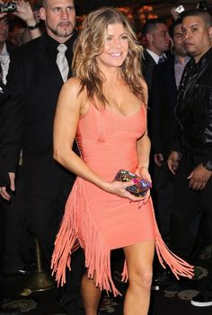 H is for Hippie Fringe - Fergie #sstrendguide ..love the color of this dress!!