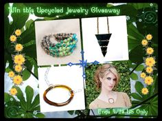 Upcycled Jewelry #Giveaway US