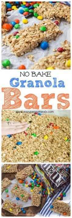 No bake granola bars, perfect for summer fun and snacking. These are easy to make, and feed a crowd!
