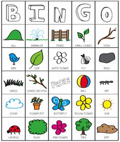 How can you keep Bingo games fun and interesting at your senior facility? Try these three ideas to keep you and your residents interested in a game. From the basics to advanced, you'll find everything bingo here. Outside Activities, Spring Activities, Learning Activities, Activities For Kids, Preschool Education, Camping Activities, Education College, Camping Bingo, Outside Games For Kids