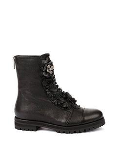 2356f4d57c4 Jimmy Choo Women s Havanaflatgfqblack Black Leather Ankle... https   www.