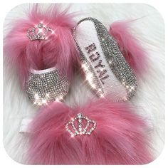 Crown Babydoll Crystals Shoes and Headband Birthday Accessories, Baby Accessories, Fashion Accessories, Bling Baby Shoes, Baby Girl Shoes, Newborn Gifts, Baby Gifts, Baby Christmas Gifts, Crystal Shoes