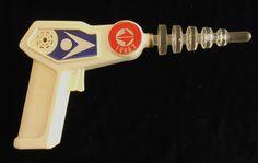 Space 1999 TV series toy laser gun 1999T - 1970s toy laser gun, plexiglass, plastic by DBLQuiltArtandDesign on Etsy