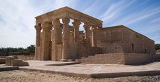 The #Monumental Temple of Hibis: Memories of Glory Days by the Last #Egyptian Pharaoh of Kemet