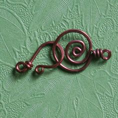 Copper Clasp for Necklace or Bracelet Handmade by funkyprettybeads, $4.00