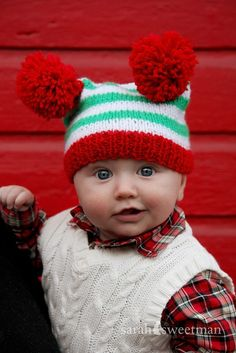 OMG!  This hat is so stinking cute and the little boys expression!  To. Die. For.