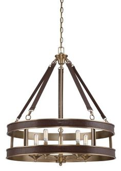 Buy the Savoy House Harness Leather Direct. Shop for the Savoy House Harness Leather Harrington 5 Light Pendant and save. Drum Chandelier, Drum Pendant, Brass Pendant, Pendant Lighting, Light Pendant, Rustic Chandelier, Chandelier Shades, Ceiling Light Fixtures, Ceiling Lights