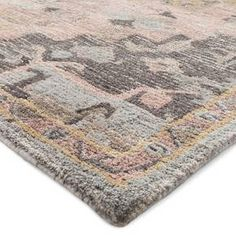 Artful Lications Of Color And Pattern Make The Vintage Rug From Threshold Look Like A Clic
