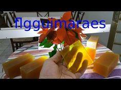 Como Fazer Base Glicerinada Para Fabricação de Sabonete Artesanal - YouTube
