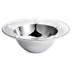 Check out this item at One Kings Lane! Orleans Fleur-de-Lis Bowl, Large
