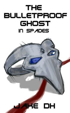 This is a sketch for the cover of the new book in the #BPG series, The BulletProof Ghost: In Spades. Www.bulletproofghost.com