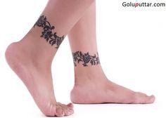 Fabulous Ankle Bracelet Tattoo Design - Copy