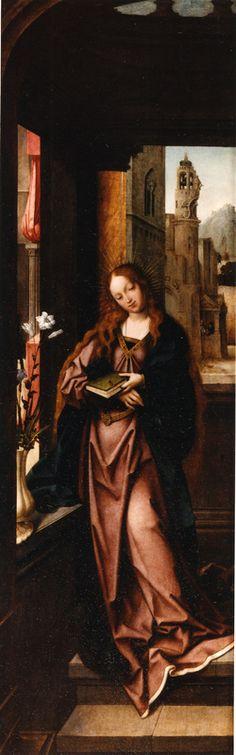 Annonciation Saint François d'Assise et saint Antoine de Padoue | Funchal[PT], Museu de Arte Sacra | inconnu (artiste-peintre), Date: 1501 - 1510