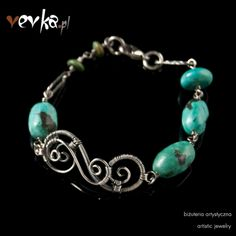 Materials: turquoise, fine and sterling silver.