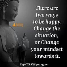 Change your mindset towards it