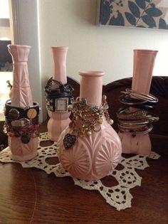 Vase Jewelry Display