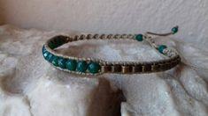 Fine macrame bracelet  boho chic alternative design beautiful colors by Konahari3071 on Etsy