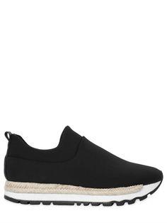 e7313aee5f98ff 30MM JADE NEOPRENE SLIP-ON SNEAKERS Slip On Sneakers
