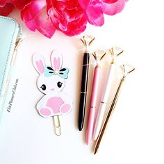 Follow me on Instagram @ElitePlannersClub for updates. Cuteness overload with this larger than life cute planner agenda kawaii paperclip