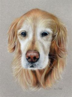 "Daily Paintworks - ""Golden Girl"" - Original Fine Art for Sale - © Heidi Rose"