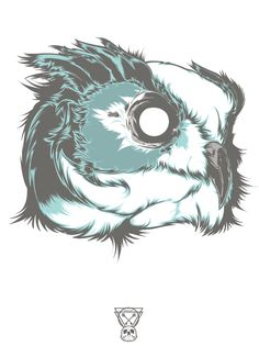 Birds of Prey - Owl Designed by Hydro74