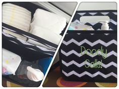 Great baby shower gift!! The Double Duty Caddy is great for holding diapers and wipes! www.MommaNeedsaNewBag.com Thirty One Baby, Thirty One Gifts, Baby Shower Registry, Baby Shower Gifts, 3 In One, Diaper Bag, Diapers, Mini, Bags