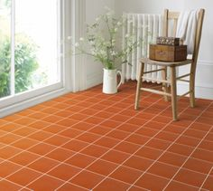 Quarry tiles are however an excellent tiles that are suitable for busy areas in your house. Quarry tiles are type of unglazed tiles which are known for being durable. Ceramic Floor Tiles, Tile Floor, Wall Tiles, Black Kitchen Countertops, Natural Stone Bathroom, Cheap Tiles, Tiled Hallway, Quarry Tiles, Terracotta Floor