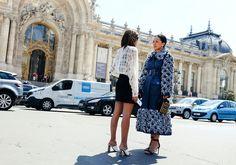 Christine Centenera and Tina Leung in Chanel