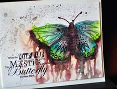 Buy from the Spectrum Aqua range here at Crafter's Companion and enjoy free standard delivery when you spend or more. Tim Holtz Stamping Platform, Noir Color, Spectrum Noir Markers, Colored Pencil Tutorial, Art And Hobby, Colouring Techniques, Butterfly Cards, Card Tutorials, Copics