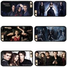 TV Series The Vampire Diaries cell phone bags case cover for iphone 4S 5S 5C SE 6S 7 PLUS Samsung galaxy S7 NOTE IPOD Touch 4 5