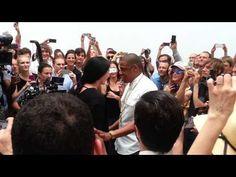 ▶ Me At Jay-Z's Picasso Baby Video Shoot Pt 2 (Marina Abramovic) - YouTube
