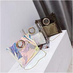 White Tote Bag Clear Bag Crossbody Bag | Baginning
