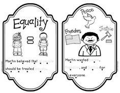 MARTIN LUTHER KING, JR. /MLK **Kindergarten and First Grade Literacy and Social Studies Reader $