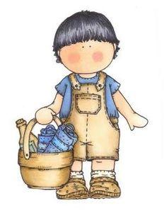 My copic coloring Boy Images, Cute Images, Cute Pictures, Children Images, Magnolia Colors, Boy Illustration, Cartoon Faces, Country Art, Magnolias