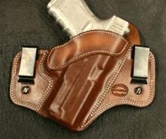 Dual Carry for Glock 19/23/32 RH - D.M. Bullard Leather Mfg.