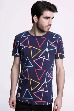 Works Geometric Triangles Tee #geometrics