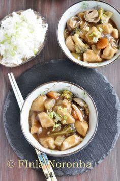 Hoisin Chicken with vegetables http://www.mykitchentreasures.com/2014/04/hoisin-chicken-with-vegetables.html