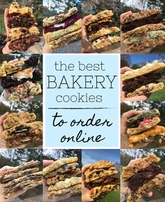 All the cookie recipes you'll need are on Cookies and Cups! From chocolate chip cookies, to sugar cookies, and everything in between! Best Dessert Recipes, Fun Desserts, Easy Dinner Recipes, Delicious Desserts, A Food, Good Food, Food And Drink, Baking Recipes, Cookie Recipes