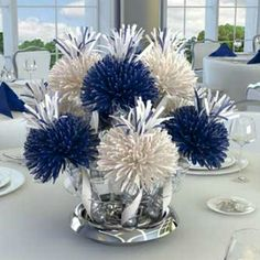 Graduation Centerpiece Ideas | Ideas For Anniversary Centerpieces - Decorating Tips For Anniversary ...