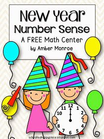 School Is a Happy Place: FREE New Year's Activities for the Primary Classroom
