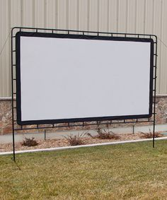 This would be amazing!!!! Maybe next summer? Indoor/Outdoor 84'' Pop-Up Screen | Daily deals for moms, babies and kids